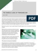 The Diabolic Logic of Transabelism - The Gospel Coalition