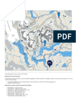 Mapa y Distancias Circuito W Torres Del Paine Torres Del Paine Fantastico Sur Patagonia Chile