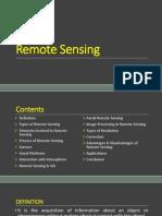 Lecture-8 Remote Sensing