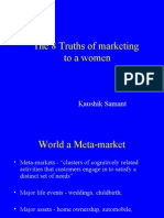 8 Truths of Marketing to a women