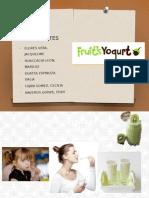 Yogurt Fruits