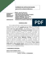 Resolución Nro. 05Resolución Nro. 0654
