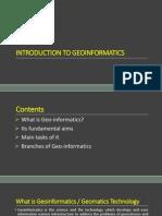 1. Geoinformatics