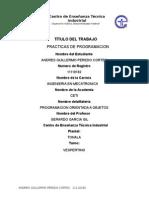 Manual de Practicas para programar en C