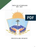 Nomina de Autoridades 2011-2015 Actualizada a Mayo 2013 (1)