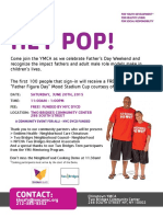 Two Bridges YMCA June 20, 2015 Fathers Day Event