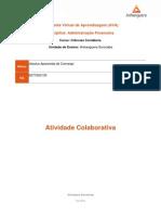 Atividade Colaborativa - Administração Financeira