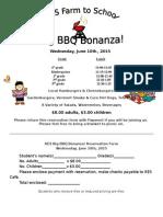 2015 Bbq Reservation Form
