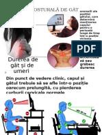 Durerea Posturală de Gât