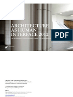 Architecture as Human Interface