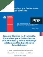 Presentación Ley Tratamientos de Alto Costo y ETESA