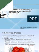 Cap I Clase II Elaboración de Modelos y Planeamiento en Minería Superficial