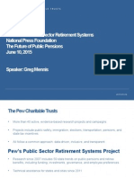 The Future of Public Pensions