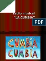 Presentación Musica CUMBIA
