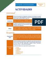 Actividades TICS 3erParcial