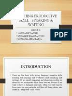 teaching productive skill