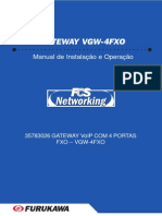 Manual Vgw 4fxo