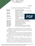 Decisão Defensoria Pública Santa Catarina