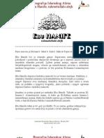 Biografija Imama Ebu Hanife