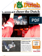 The Daily Dutch International #3 from Vancouver | 02/13/10