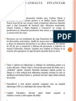 Audit Financiar- Cazul Parmalat