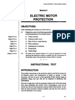 Electrical Motor Protection