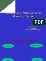 Clasificación y Valoración de Las Heridas y Úlceras