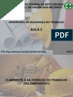 Aula 2 - O ambiente e as doenças do trabalho.pdf