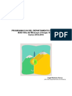 Programacion Música 2014-2015