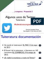 Usos de Twitter