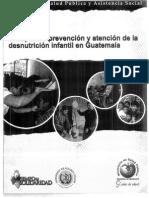Desnutricion Cronica Guatemala