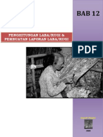 Bab 12 Penghitungan Labarugi & Pembuatan Laporan Labarugi