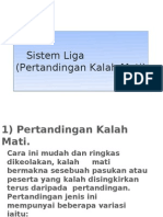 Form 4-Sistem Liga (Pertandingan Kalah Mati)