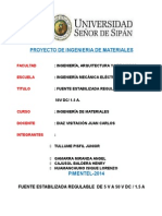 PROYECTO DE UNA FUENTE DE ALIMENTACION.doc