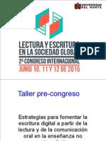 Taller Pre Congreso 2015