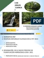 Reservas Naturales Fluviales en La Cuenca Del Tajo