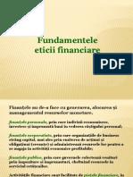 07.1 Fundamentele Eticii Financiare