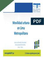 Movilidad Lima.