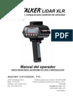011-0138-01 Stalker LIDAR XLR Operator Manual Rev a E-S