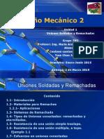 Unidad 1- Uniones Soldadas y Remachadas