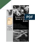 5826 Oster Deluxe 2.0LB Bread & Dough Maker