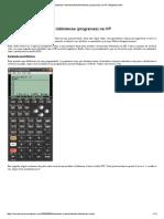 Instalando e Desinstalando Bibliotecas (Programas) Na HP _ Engenheirando