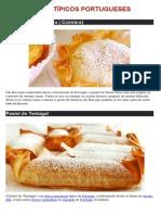 Doces Típicos Portugueses