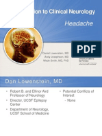 Clinical Psychology - headache