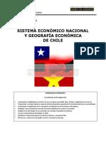 Sistema Económico Nacional y Geografía Económica de Chile