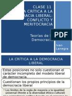 Clase 11 - La Crítica a La Democracia Liberal