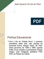 Politica Educacional
