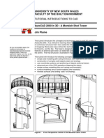 AutoCad Tutorial for 3D