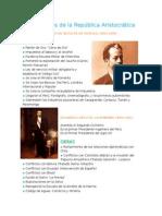 Presidentes de La República Aristocrática (1)