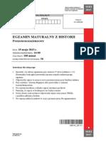Matura 2015 - historia - poziom rozszerzony - arkusz maturalny (www.studiowac.pl)